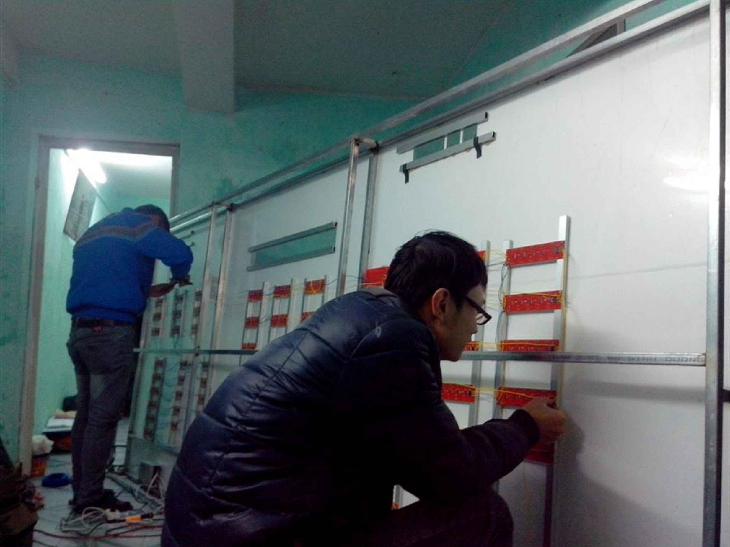 Bảng điện tử led tỷ giá nghiệp vụ ngân hàng nông nghiệp Agribank - Quảng Cáo Bến Tre