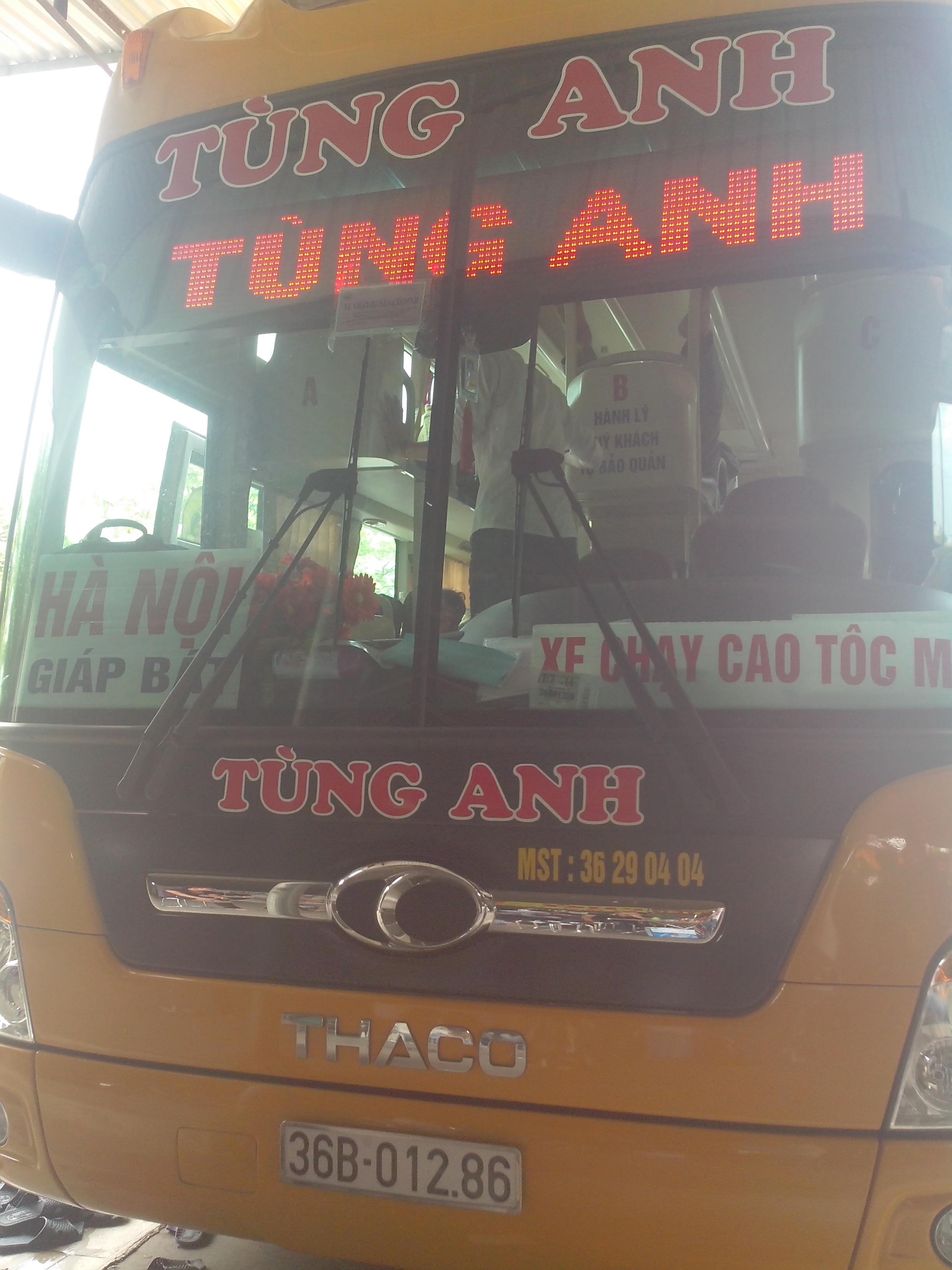 Biển Led gắn trên xe khách - xe bus (buýt) cho các nhà xe