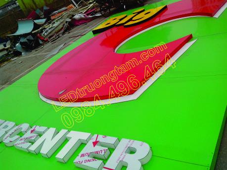 Thi công biển quảng cáo Công trình BigC Thăng Long - HN 2014