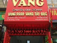 Bảng biển quảng cáo cửa hàng vàng bạc ngoại tệ kim hoàn gia truyền