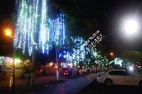 LED dọc đường phố, dải phân cách